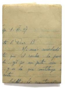 carta escrita por fernando navarro a su mujer edith diaz