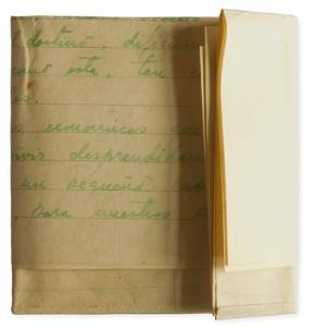 Carta escrita por fernando navarro a su mujer edith díaz, 1959