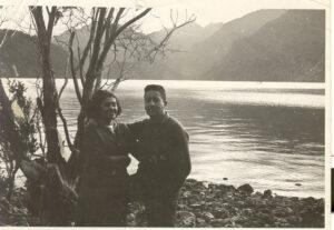 Fernando ortiz y María Eugenia-Lago Chapo febrero 1965