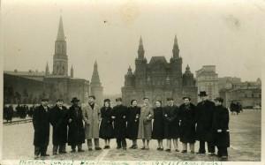 Plaza roja, moscu 1951