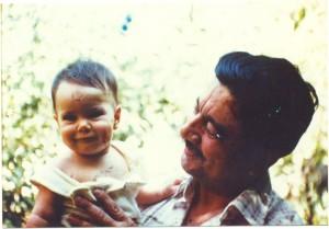 fernando ortiz y su nieta javiera parada