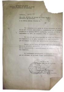respuesta fiscalia militar en relación al caso del maonica llanca
