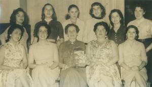 edith diaz con el grupo de mujeres