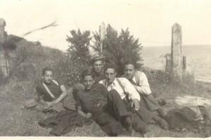 Camino a Pelluco, febrero 1937