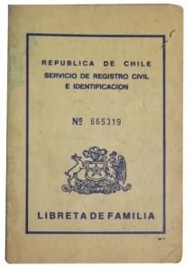 Libreta de Matrimonio, 1971