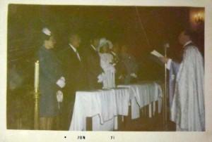 Matrimonio religioso, Mónica y Manuel 17 de abril de 1971