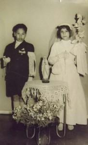 Primera comunión, 1958.