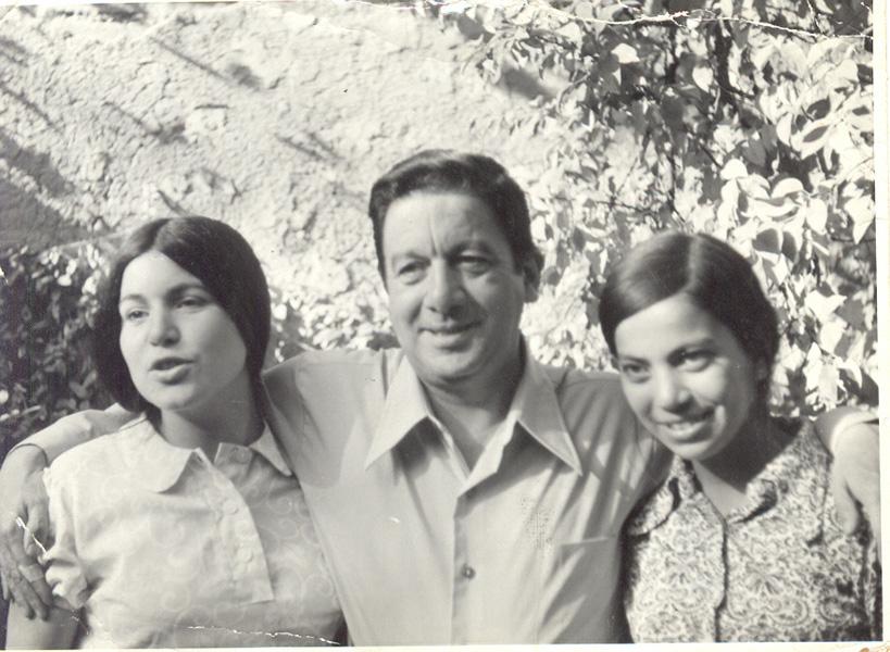 Estela Ortiz, Fernando Ortiz y María Luisa Ortiz, 1971