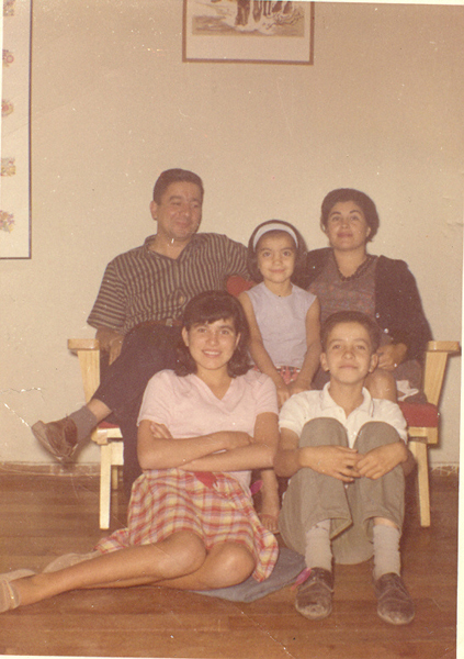 Familia Ortiz Rojas