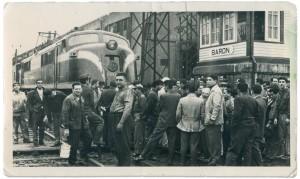 Accidente ferroviario muerte de aurelio rojas, 1964