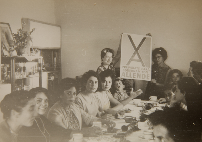 edith díaz y la campaña de allende 1970
