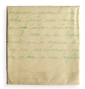 carta escrita por fernando navarro a su mujer edith díaz