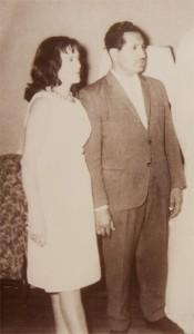 Edith Díaz y fernando navarro