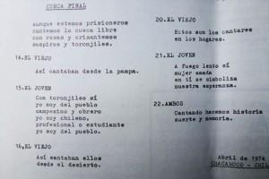 Décimas del recuerdo, Izquierda Cristiana, boletín, 1977