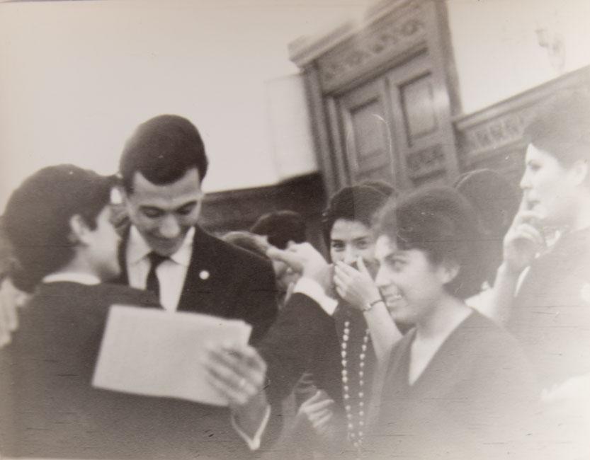 marcelo concha y lenin díaz, moscú, 1965