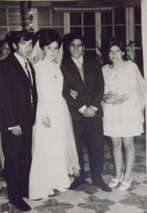 Monica Llanca y Manuel Maturana