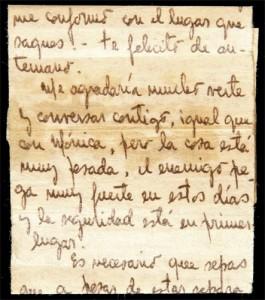 carta escrita por fernando navarro a su hija patricia en clandestinidad, 1975