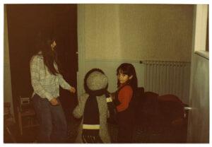 Sylvana Fuentes y María Verónica Cienfuegos, 1981