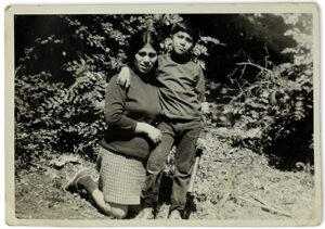 Mireya Adriana Rivera e hijo