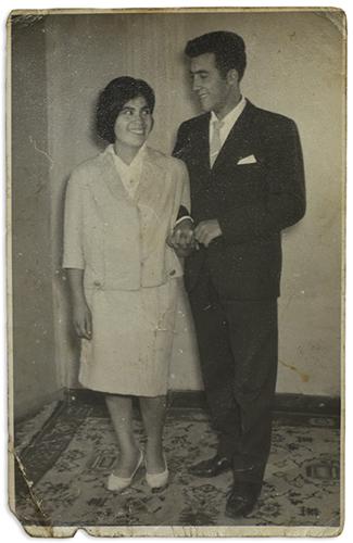 Plutarco Coussy y su mujer Mireya Adriana Rivera