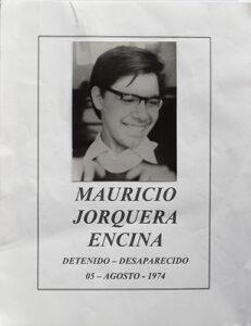 Mauricio jorquera, afiche