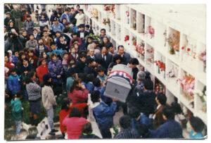 funeral  de Pedro León  Vargas